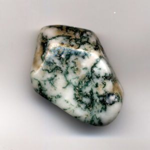 Moss Agate enhances personal power